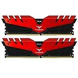 Team 32GB (2 x 16GB) T-Force DARK DDR4 PC4-24000 3000MHz Desktop Memory Model TDRED432G3000HC16CDC01