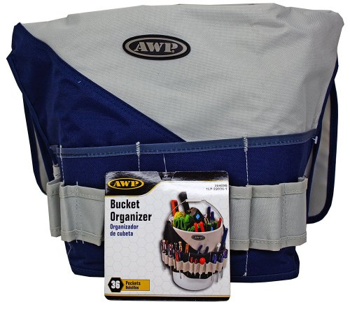 36 Pocket Bucket Tool Organizer