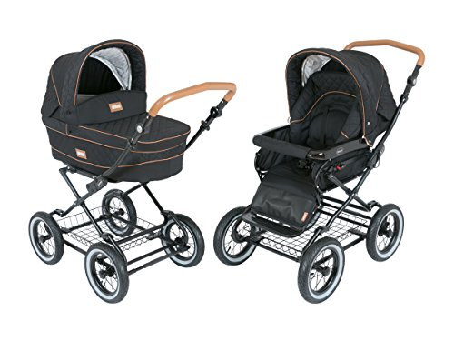 Roan-Kortina-Luxury-Edition-Classic-Pram-Stroller-2-in-1-with-Bassinet-and-Seat-graphite