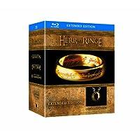 """Der Herr der Ringe - Die Spielfilm Trilogie (Limited Extended Editions inkl. Der Eine Ring""""-Replik, exklusiv bei Amazon.de) [Blu-ray]"""