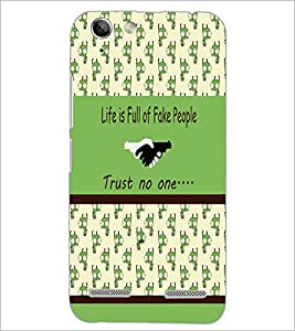 PrintDhaba Quote D-3834 Back Case Cover for LENOVO VIBE K5 PLUS (Multi-Coloured)