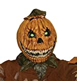Pumpkin Rot Scary Monster Horror Latex Adult Halloween Costume Mask