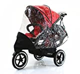 Baby Travel Raincover To Fit Phil and Teds Sport Double