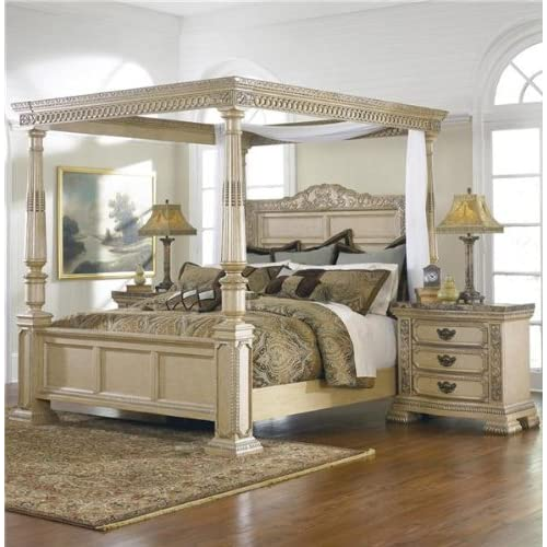 King Size Canopy Bedroom Sets: Ballentynes Hill King Size Poster Bed W