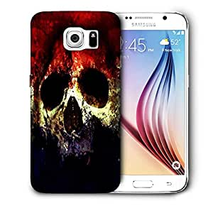 Snoogg Three Skull Printed Protective Phone Back Case Cover For Samsung Galaxy S6 / S IIIIII