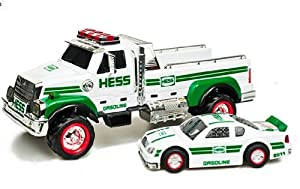 Toy / Game 2011 Hess Toy Truck And Race Car With Pullback Motor And Working Lights - Great Toy For Kids
