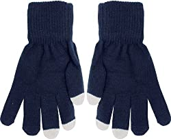 True Gear Adult Touch Gloves (blue)