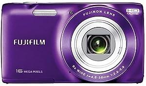 CAMARA DIGITAL FUJIFILM JZ100 PURPLE+ SD 8GB+ FUNDA
