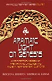 img - for Aramaic Light on Genesis book / textbook / text book