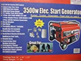 3500 Watt Generator with wheel kit – PULL Start – NO Electric Start -…