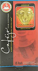 Colombian Coffee Pods (18 Count Box)