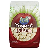 Fruitbowl Raisin Yogurt Fruit Flakes Multi-Packs 30 g (Pack of 6, Total 30 Bags)