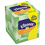 KIMBERLY-CLARK PROFESSIONAL* - KLEENEX Anti-Viral Facial Tissue, 3-Ply, 68 Sheets/Box - Sold As 1 Box - Anti-viral tissue with three soft layers, including a moisture-activated middle layer that kills 99.9% of cold and flu viruses.