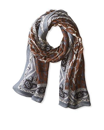 Theodora & Callum Women's Kathmandu Tie-All Scarf, Grey Multi