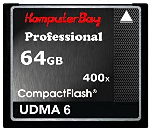 Komputerbay 64GB Professionelle Compact Flash-Karte CF 400X WRITE 30MB / s lesen 60MB / s Extreme Speed UDMA 6 RAW 64 GB