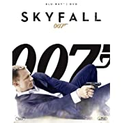 007/スカイフォール 2枚組ブルーレイ&DVD (初回生産限定) [Blu-ray]