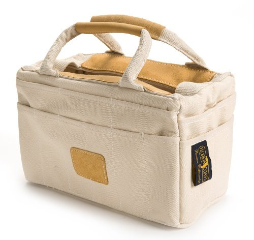 Florida Coast RB 15002 Leather Trim Tool Tote Natural Cotton