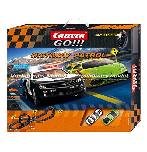 Carrera Go!!! - Highway Patrol Race Set