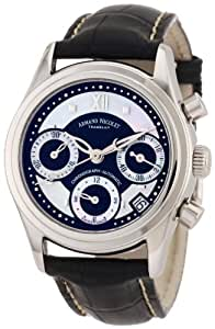 Armand Nicolet M03 9154A-NN-P915NR8 34mm Automatic Stainless Steel Case Black Leather Anti-Reflective Sapphire Women's Watch
