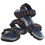 SPARX-Blue-Orange-Sandals-Size-6×10-SS504