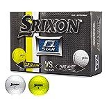 Srixon Q-Star 6 Ball Pack (4 Pure White & 2 Tour Yellow Golf Balls)