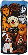 Dogs Pawprint Design Velour Beach Towel 28inch x 55inch Dogs