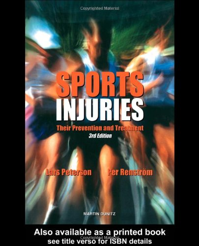 Sports Injuries: Their Prevention and Treatment