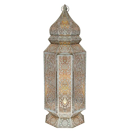 Moroccan cut out lamp
