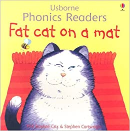 Amazon Com Fat Cat On A Mat Easy Words To Read