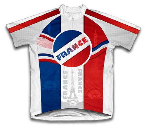 Buy Low Price Viva La France Cycling Jersey for Women (01-JSS-234-PW)