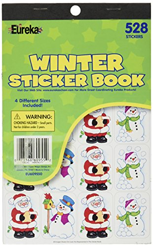 Eureka Winter Sticker Book