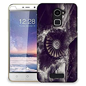 Snoogg propeller 18809 2922 Designer Protective Back Case Cover For Coolpad Note 3 Lite