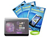 New 3 Screen Protectors for Samsung Galaxy Tab P7510 10.1. CrazyOnDigital Brand Package