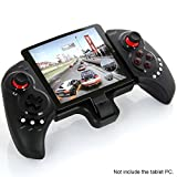 IPEGA PG-9023 Telescopic Wireless Bluetooth Game Controller Gamepad for Smart Projector, Smart Phone, Smart Tablet PC, Bluetooth Laptop (Color: Black)