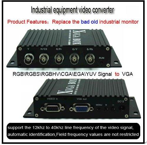 8219 MDA RGB CGA EGA to VGA Industrial Converter for CNC SMT Monitor Replacement : Mazak Fanuc Mitsubishi Siemens Hitachi Ge Matsushita Mazak Heidenhain Tatung Totoku Magnetek Toshiba