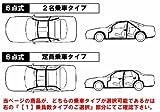 トゥディ[JW3(2ドア)]用 6点式ロールバー[クロモリ]2名乗車Type ダッシュ逃げ