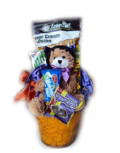 Healthy Halloween Gift Basket