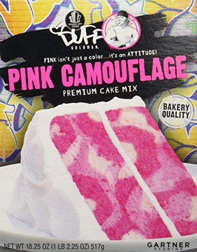 Duff Goldman Pink Camouflage Premium Cake Mix (Zebra Cake Mix compare prices)