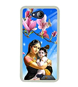 ifasho Designer Phone Back Case Cover Micromax Canvas Play Q355 ( Number 4 Four Colorful Rainbow )
