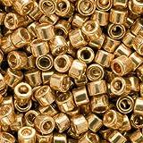Miyuki Delica Seed Beads 11/0 Galvanized Yellow Gold DB410 7.2 Grams