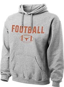 Texas Longhorns Grey Classic Football Hooded Sweatshirt
