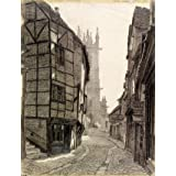 Fish Street, Shrewsbury, by Edward Walker (Print On Demand)