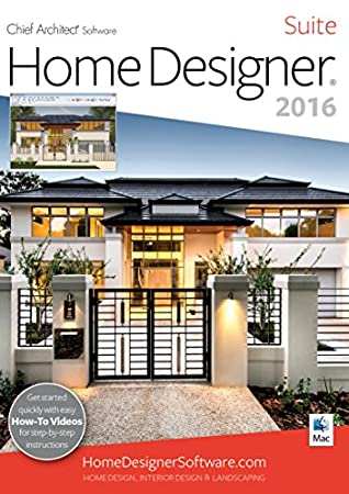 Home Designer Suite 2016 [Mac] [Download]