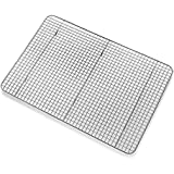 Cooling Rack, Chef Quality 12 inch x 17 inch Chrome Plate Steel Oven Safe