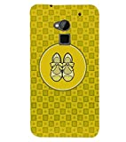 PRINTVISA Abstract Yellow Ladies Footwear Case Cover for HTC One Max