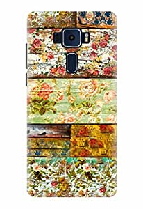 Noise Designer Printed Case / Cover for ASUS ZENFONE 3 ZE520KL 5.2 Inch screen size / Nature / Flower Design
