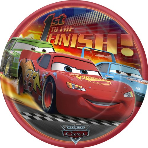 Cars Lunch Plates 8ct - 1