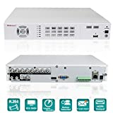 iSmart 8Channel H.264 Full 960H HDMI DVR Home Security Camera System (No HDD) D5608WH (Color: White DVR)