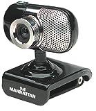 Manhattan 5 Megapixel Web Cam 500 SX (Hi-Speed USB 2.0) schwarz/silber