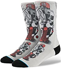 Stance Skate Legends Barbee 2 Socks Cream Large/X-Large(8-12UK)